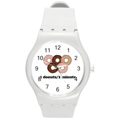 852 Round Plastic Sport Watch (M)