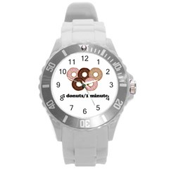852 Round Plastic Sport Watch (L)