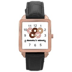 852 Rose Gold Leather Watch