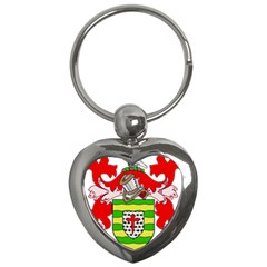 County Donegal Coat of Arms Key Chains (Heart)