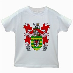 County Donegal Coat of Arms Kids White T-Shirts