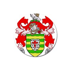 County Donegal Coat of Arms Magnet 3  (Round)