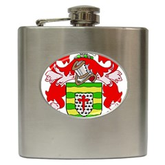 County Donegal Coat of Arms Hip Flask (6 oz)