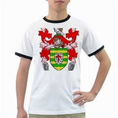 County Donegal Coat of Arms Ringer T-Shirts
