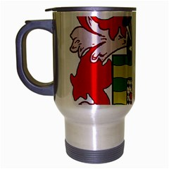 County Donegal Coat of Arms Travel Mug (Silver Gray)