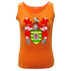 County Donegal Coat of Arms Women s Dark Tank Top