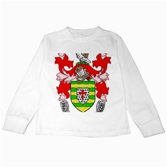 County Donegal Coat of Arms Kids Long Sleeve T-Shirts