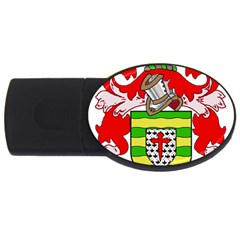 County Donegal Coat of Arms USB Flash Drive Oval (4 GB)
