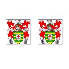 County Donegal Coat of Arms Cufflinks (Square)