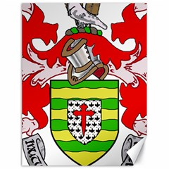 County Donegal Coat of Arms Canvas 18  x 24