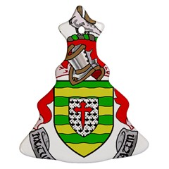 County Donegal Coat of Arms Christmas Tree Ornament (Two Sides)
