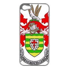 County Donegal Coat of Arms Apple iPhone 5 Case (Silver)