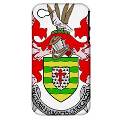 County Donegal Coat of Arms Apple iPhone 4/4S Hardshell Case (PC+Silicone)