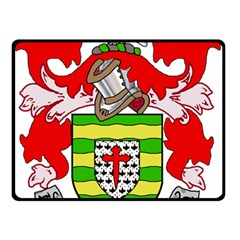 County Donegal Coat of Arms Double Sided Fleece Blanket (Small)