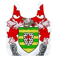 County Donegal Coat of Arms Full Print Recycle Bags (L)