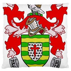 County Donegal Coat of Arms Large Flano Cushion Case (Two Sides)