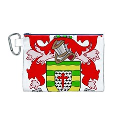 County Donegal Coat of Arms Canvas Cosmetic Bag (M)