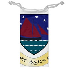 Coat of Arms of County Galway  Jewelry Bag