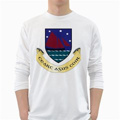 Coat of Arms of County Galway  White Long Sleeve T-Shirts