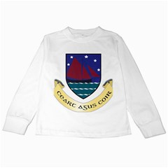 Coat of Arms of County Galway  Kids Long Sleeve T-Shirts