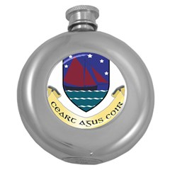 Coat of Arms of County Galway  Round Hip Flask (5 oz)