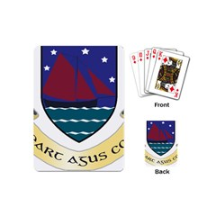 Coat of Arms of County Galway  Playing Cards (Mini)