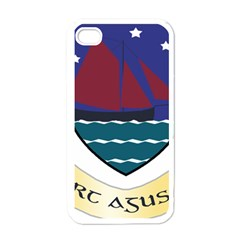 Coat of Arms of County Galway  Apple iPhone 4 Case (White)