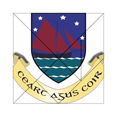 Coat of Arms of County Galway  Acrylic Tangram Puzzle (6  x 6 )
