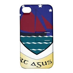 Coat of Arms of County Galway  Apple iPhone 4/4S Hardshell Case with Stand