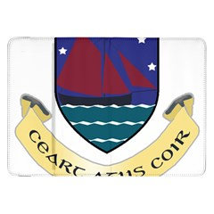 Coat of Arms of County Galway  Samsung Galaxy Tab 8.9  P7300 Flip Case