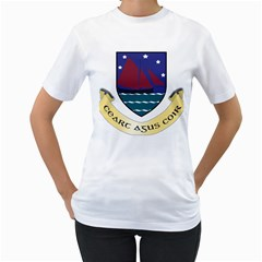 Coat of Arms of County Galway  Women s T-Shirt (White)