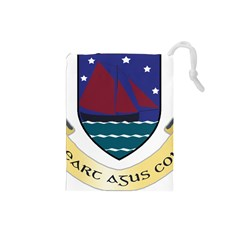 Coat of Arms of County Galway  Drawstring Pouches (Small)