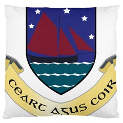 Coat of Arms of County Galway  Standard Flano Cushion Case (One Side)