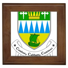 Coat of Arms of County Kerry  Framed Tiles