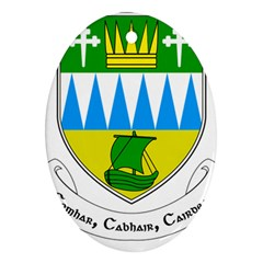 Coat of Arms of County Kerry  Ornament (Oval)