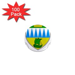 Coat of Arms of County Kerry  1  Mini Magnets (100 pack)