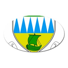 Coat of Arms of County Kerry  Oval Magnet