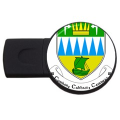 Coat of Arms of County Kerry  USB Flash Drive Round (2 GB)