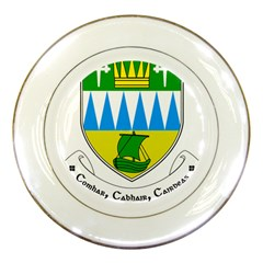 Coat of Arms of County Kerry  Porcelain Plates