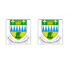 Coat of Arms of County Kerry  Cufflinks (Square)