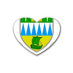 Coat of Arms of County Kerry  Heart Coaster (4 pack)