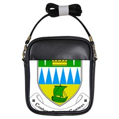 Coat of Arms of County Kerry  Girls Sling Bags