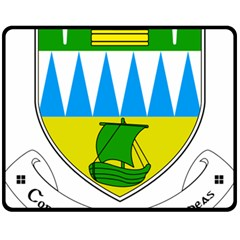 Coat of Arms of County Kerry  Fleece Blanket (Medium)