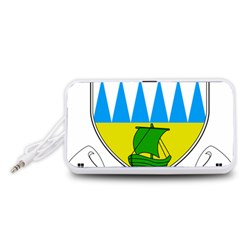 Coat of Arms of County Kerry  Portable Speaker (White)