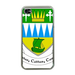 Coat of Arms of County Kerry  Apple iPhone 4 Case (Clear)