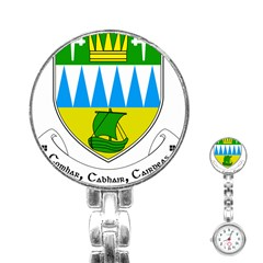 Coat of Arms of County Kerry  Stainless Steel Nurses Watch
