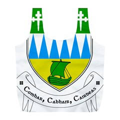 Coat of Arms of County Kerry  Full Print Recycle Bags (L)