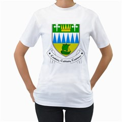 Coat of Arms of County Kerry  Women s T-Shirt (White)