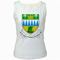 Coat of Arms of County Kerry Women s White Tank Top