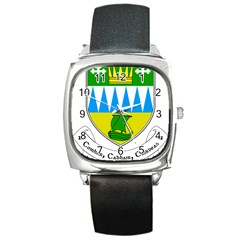 Coat of Arms of County Kerry Square Metal Watch